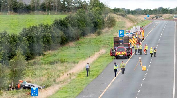 The scene of the accident near Cashel in which Nicola Kenny died