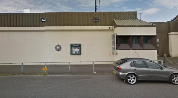 Newry, Down and Mourne Council had wanted to buy the closed down PSNI station. Credit: Google.