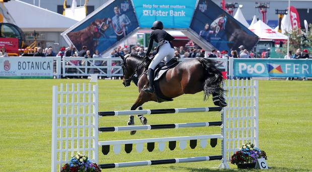 Showjumping at the Balmoral Show