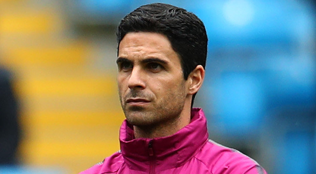 In frame: Mikel Arteta is a real contender for the Arsenal job