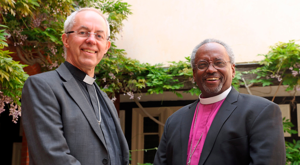 The Most Reverend Justin Welby and The Most Rev Bishop Michael Curry