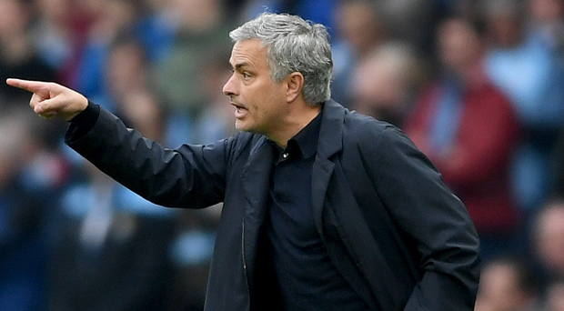 Big point: Jose Mourinho says he will analyse United's season overall, regardless of their result at Wembley