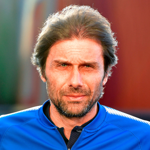 Cool head: Antonio Conte isn't allowing himself to lose focus