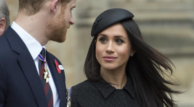 Prince Harry and Meghan Markle are due to wed on Saturday (Eddie Mulholland/Daily Telegraph/PA)
