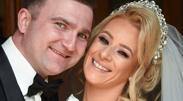 Vows: The happy couple