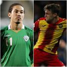 Sean Scannell and Niall Keown could be set for an international switch to represent Northern Ireland.