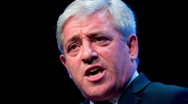 Admission: John Bercow