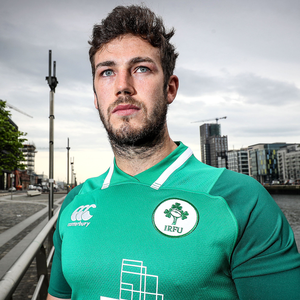 Huge boost: Caelan Doris is back to skipper the Irish U20s
