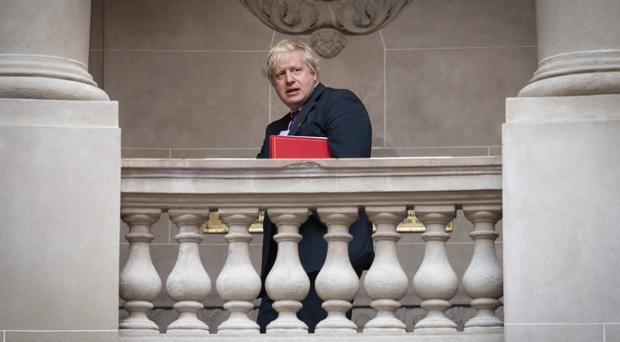 Boris Johnson is currently on a tour of Latin America (Stefan Rousseau/PA)