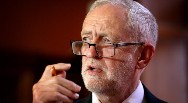 Labour leader Jeremy Corbyn is to call for the revival of the Intergovernmental Conference (Jane Barlow/PA)