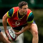 Stern Test: John Cooney will join fellow Ulster players Rory Best, Iain Henderson and Jacob Stockdale for Ireland's three-Test tour down under next month