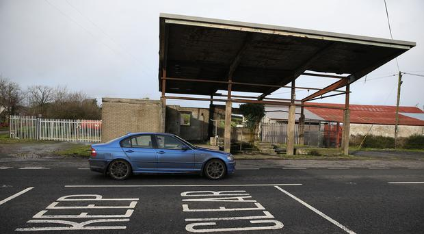 A disused customs post at the border between Northern Ireland and the Republic of Ireland in Middletown, Co Armagh (Brian Lawless/PA)