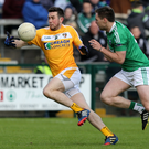 Fired up: Conor Murray thinks Antrim can shock Down