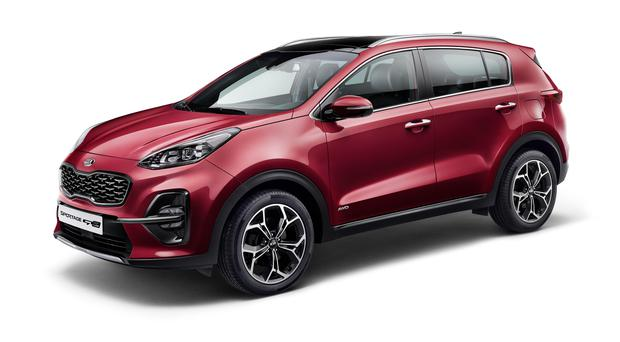 New-look Kia Sportage.