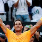 Top man: Rafa Nadal is eyeing his 11th French Open crown