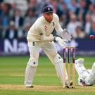 Sloppy showing: Jonny Bairstow at Lord's yesterday
