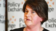 DUP leader Arlene Foster has said the law covering abortion is a devolved matter for Northern Ireland politicians to deal with. John Stillwell/PA.
