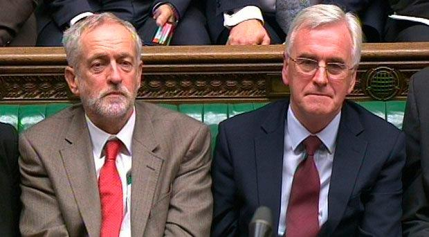 Outspoken ally: Shadow Chancellor John McDonnell (right) and Jeremy Corbyn