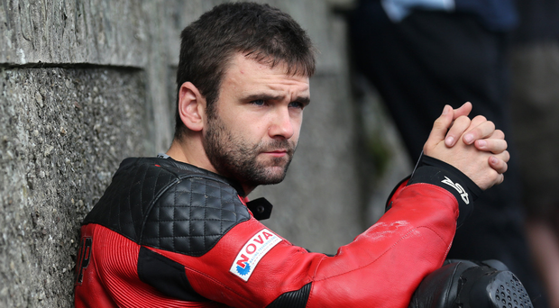 Time out: William Dunlop has returned home to contemplate his future