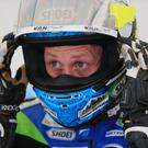 In form: Dean Harrison posted two 133mph laps on the Kawasaki superbike last night