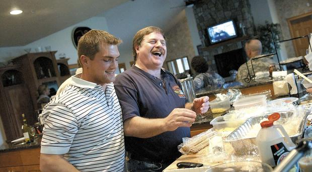 Blake Painter, left, was 38 (Lori Assa/Daily Astorian via AP)