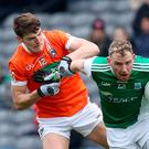 Action man: Aidan Breen's dynamic work-rate will help underpin Fermanagh's bid to reach the Ulster Championship final