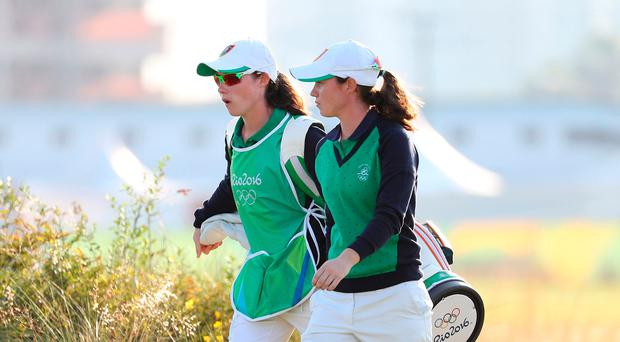 Future stars: Lisa and Leona Maguire have bright prospects