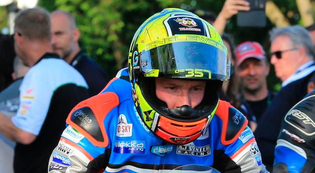 In gear: AJ Venter is ready to open up on the Isle of Man