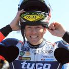 All smiles: Dan Kneen's smiling face was very familiar to all racing enthusiasts.
