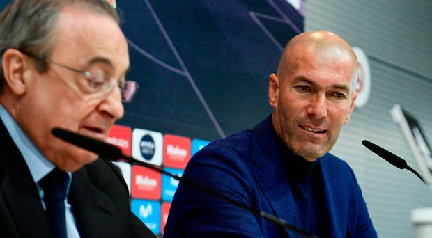 Zinedine Zidane quits Real Madrid five days after Champions League win
