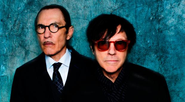 Brotherly love: Sparks duo Ron (left) and Russell Mael