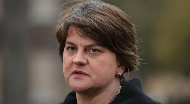 DUP leader Arlene Foster is set to appear at an Orange Order parade in Scotland. (Yui MOk/PA)