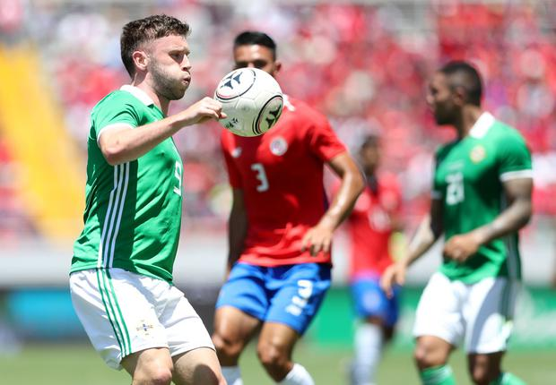 Shay McCartan played for Costa Rica earlier this summer.
