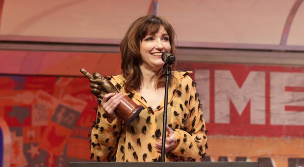 Viv Albertine's autobiography inspired the new focus of the pop music exhibition in Belfast (Yui Mok/PA)