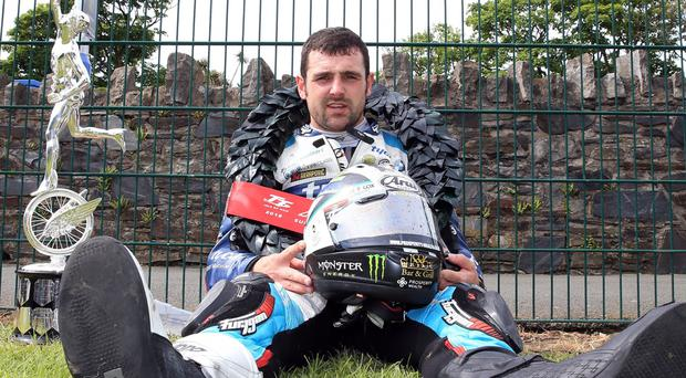 Michael Dunlop is in confident mood at this year's Isle of Man TT.