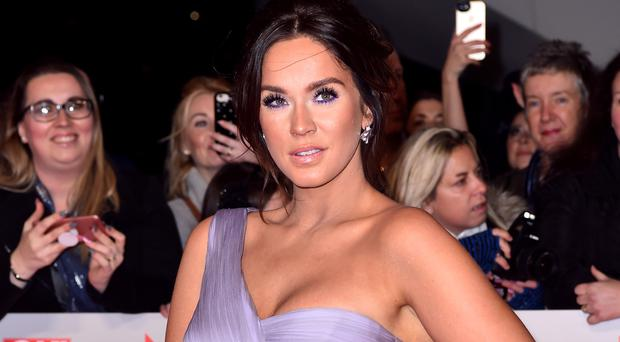 Vicky Pattison said her 'heart is broken' after the sudden death (Matt Crossick/PA)