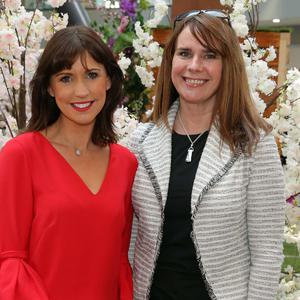 Caroline Gillan and Cathy Galway attend a networking event hosted by Grant Thornton, Beauty and Business