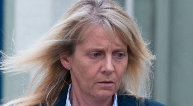 Yvonne Seaman at yesterday's inquest