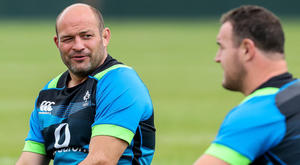 Worrying time: Rory Best could lose the Ireland captaincy, and his role as starting hooker, as he sits at home during tour to Oz