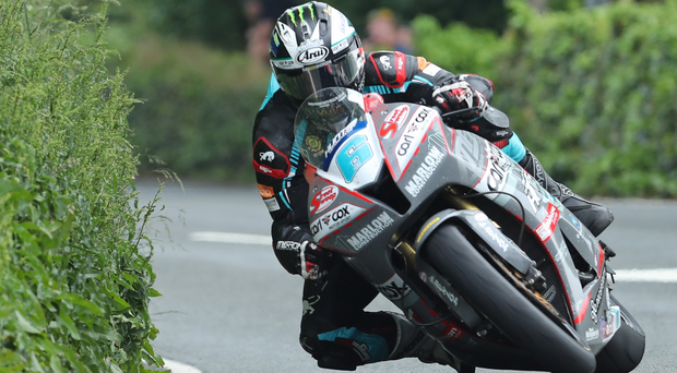 Road warrior: Michael Dunlop leads the way