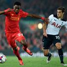 Liverpool's Ovie Ejaria (L) is reportedly heading to Rangers on loan.