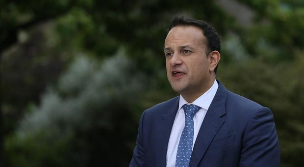 Leo Varadkar will tour Schomberg House in Belfast on Friday (Brian Lawless/PA)