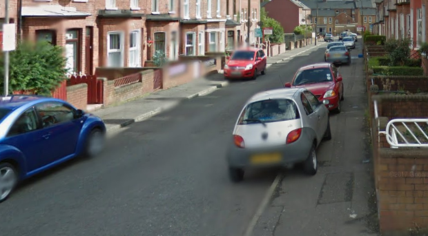 Wyndham Street in Belfast. Credit: Google.