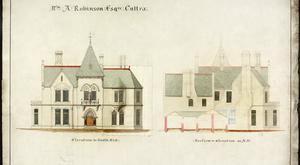 An architectural drawing of the Culloden