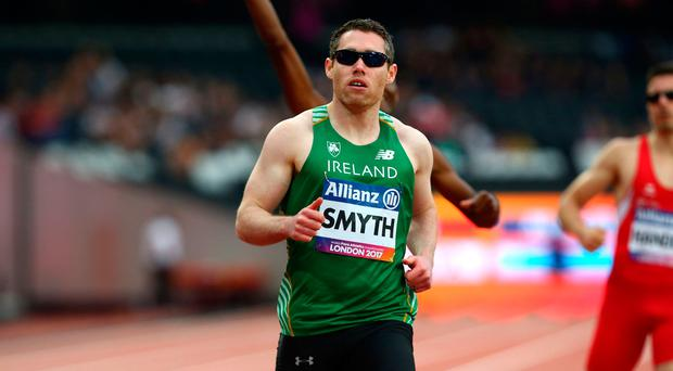 Tough test: Jason Smyth is aiming to end four-year wait