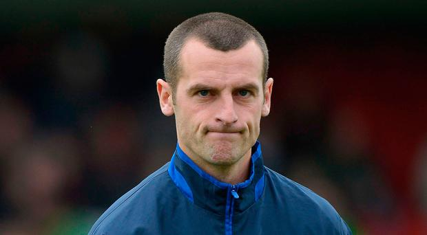 Going nowhere: Oran Kearney is set to remain at Coleraine
