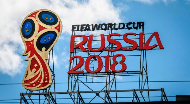 The 2018 World Cup logo