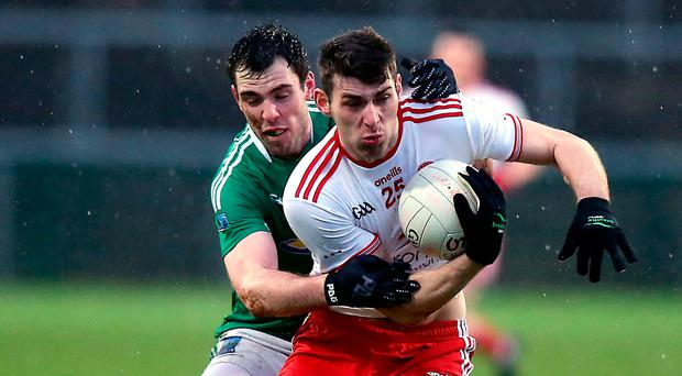Fired up: Padraig McNulty is keen to make a big impact in the Tyrone midfield