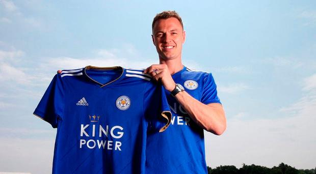 Cunning fox: Northern Ireland international Jonny Evans can't wait to get started with his new club Leicester City