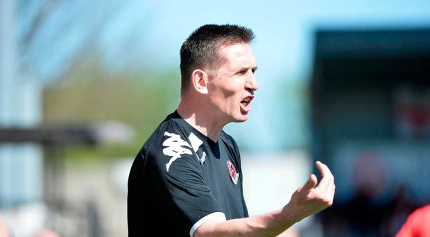 Cup shot: Stephen Baxter's men reached semi-finals